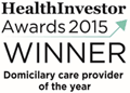 HealthInvestor Awards 2015 Winner - Domicilary care provider of the year